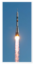 Premiumposter The Soyuz TMA-18 rocket