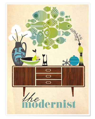 Premiumposter The modernist