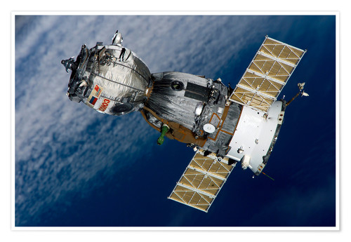 Premiumposter The Soyuz TMA-7 spacecraft