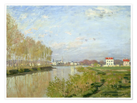 Premiumposter The Seine at Argenteuil