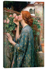 Canvastavla  The Soul of the Rose - John William Waterhouse