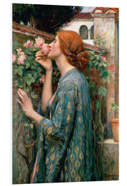 PVC-tavla  The Soul of the Rose - John William Waterhouse