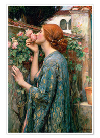 Premiumposter  The Soul of the Rose - John William Waterhouse