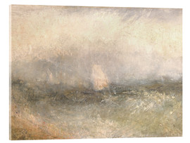 Akrylglastavla  Off the Nore: Wind and Water - Joseph Mallord William Turner
