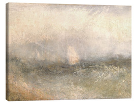 Canvastavla  Off the Nore: Wind and Water - Joseph Mallord William Turner