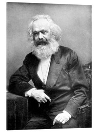 Akrylglastavla  Karl Marx - English Photographer
