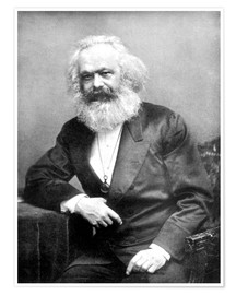 Premiumposter  Karl Marx - English Photographer
