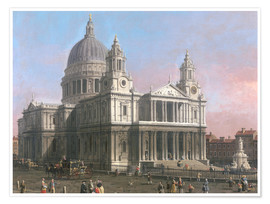 Premiumposter  St. Paul's Cathedral - Antonio Canaletto