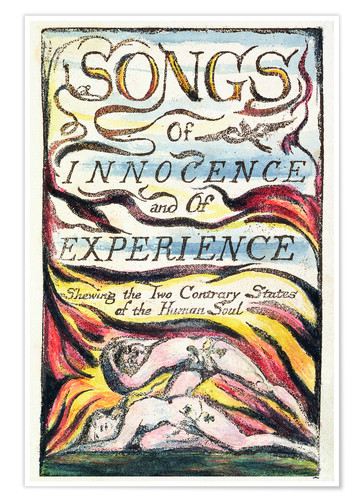 Premiumposter Songs of Innocence and of Experience
