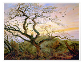 Premiumposter  The Tree of Crows - Caspar David Friedrich