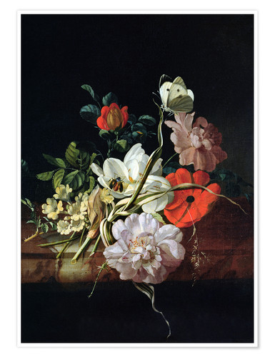 Premiumposter Still Life with Flowers