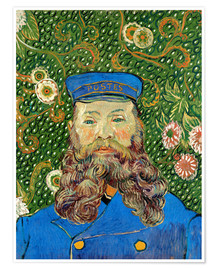 Premiumposter  Portrait of Joseph Roulin - Vincent van Gogh