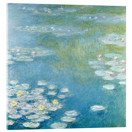 Akrylglastavla  Nympheas at Giverny - Claude Monet