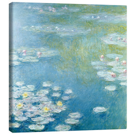 Canvastavla  Nympheas at Giverny - Claude Monet