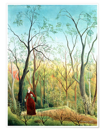 Premiumposter  The walk in the forest - Henri Rousseau