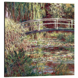 Aluminiumtavla  Waterlily Pond: Pink Harmony - Claude Monet