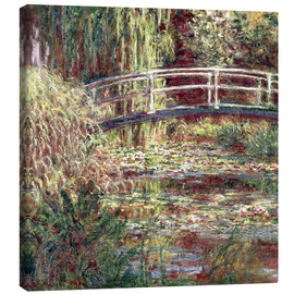 Canvastavla  Waterlily Pond: Pink Harmony - Claude Monet
