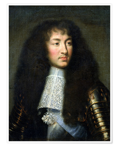 Premiumposter Portrait of Louis XIV