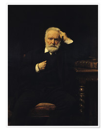 Premiumposter Portrait of Victor Hugo
