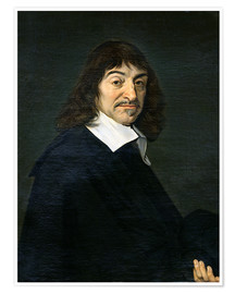 Premiumposter René Descartes