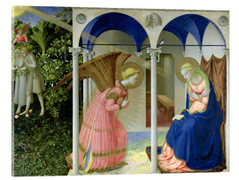 Akrylglastavla  The Annunciation - Fra Angelico