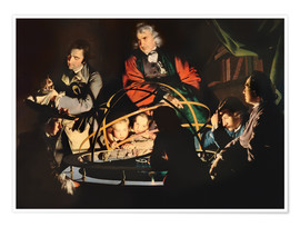Premiumposter  The Orrery - Joseph Wright of Derby