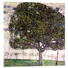 Akrylglastavla  The Apple Tree II - Gustav Klimt