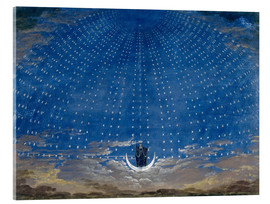 Akrylglastavla  The Palace of the Queen of the Night - Karl Friedrich Schinkel