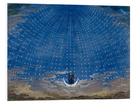 PVC-tavla  The Hall of Stars in the Palace of the Queen of the Night - Karl Friedrich Schinkel