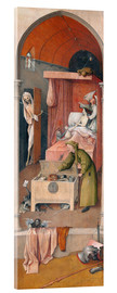 Akrylglastavla  Death and the Miser - Hieronymus Bosch