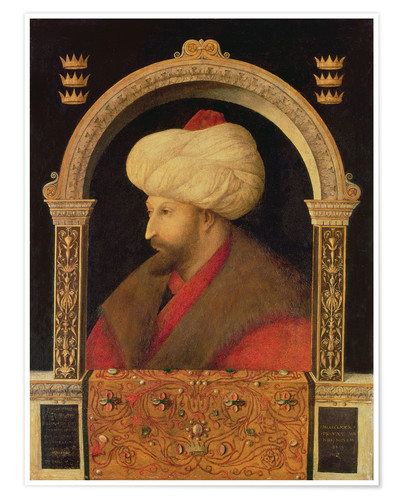 Premiumposter The Sultan Mehmet II