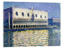 Akrylglastavla  The Ducal Palace - Claude Monet