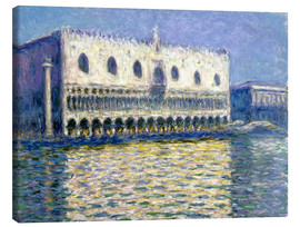 Canvastavla  The Ducal Palace - Claude Monet