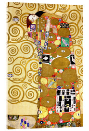 Akrylglastavla  The tree of life (fulfilment) - Gustav Klimt