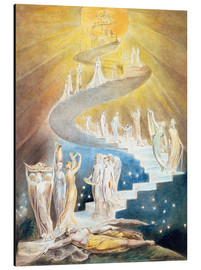 Aluminiumtavla  Jacob's ladder - William Blake