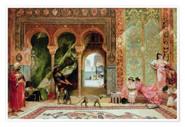 Premiumposter  A Royal Palace in Morocco - Constant