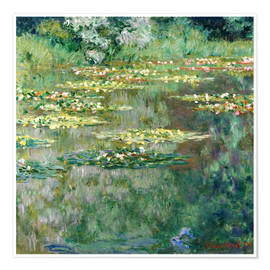 Premiumposter The Waterlily Pond