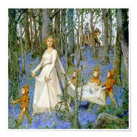 Premiumposter  The Fairy Wood - Henry Meynell Rheam