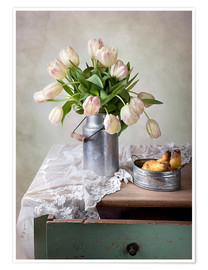Premiumposter  Still life with tulips - Nailia Schwarz