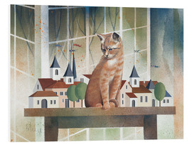 PVC-tavla  View of the cat - Franz Heigl