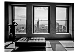 Akrylglastavla  New York, Top of the Rock - Thomas Splietker