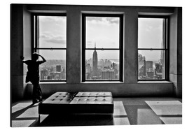Aluminiumtavla  New York, Top of the Rock - Thomas Splietker
