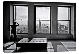 Canvastavla  New York, Top of the Rock - Thomas Splietker