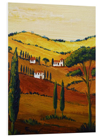 PVC-tavla  Tuscany Mini - Christine Huwer