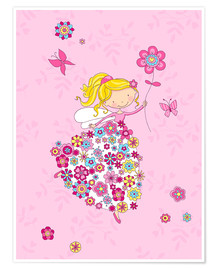 Premiumposter  Flower Princess - Fluffy Feelings