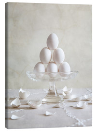 Canvastavla  Still Life with Eggs - Nailia Schwarz