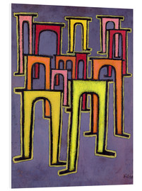 PVC-tavla  Revolution of the Viaduct - Paul Klee