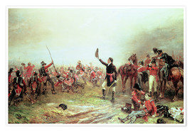 Premiumposter The Battle of Waterloo