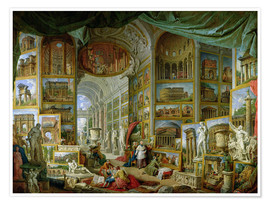 Premiumposter Gallery of Views of Ancient Rome