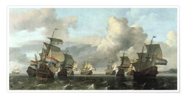 Premiumposter The Dutch Fleet of the India Company